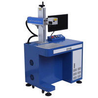 Desktop JPT 60W fiber laser marking machine