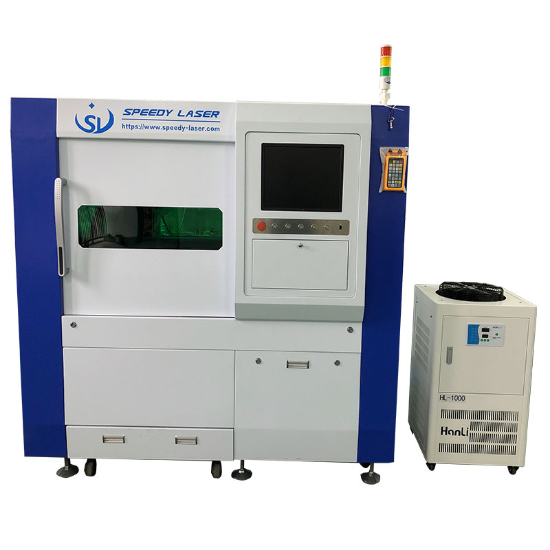 Raycus 1000W fiber laser cutting machine
