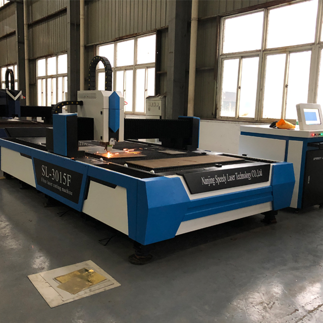1000W / 1500W metal fiber laser cutting machine