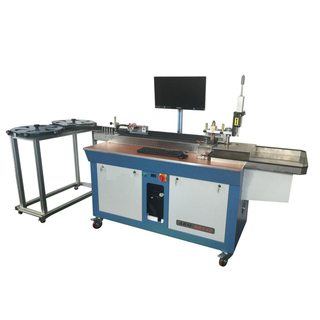 Auto bending machine for 4pt rule