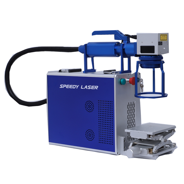 20W 30W Hand held fiber laser marking machine