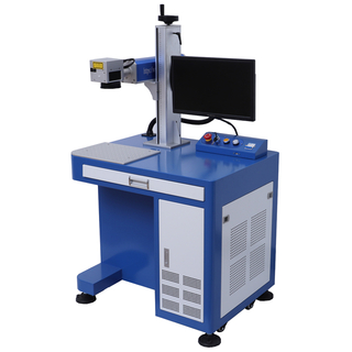 30W 50W fiber laser engraver machine China