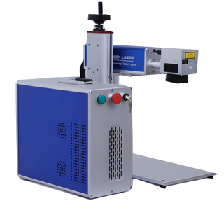 JPT MOPA laser 30W laser marking machine stainless steel color marking