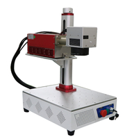3W UV laser marking engraving machine for plastic glass materials