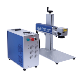Split Raycus 50 watt fiber laser marking machine
